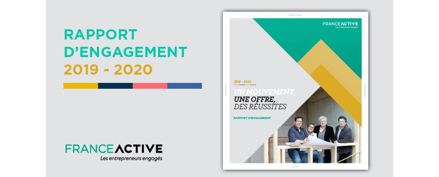 France Active publie son rapport d'engagement 2019-2020